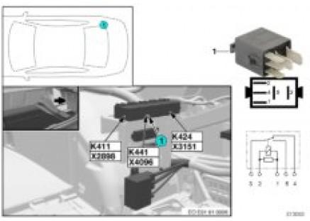 Relay, flashing beacons K441