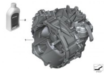 Manual transmission GS6-59DG