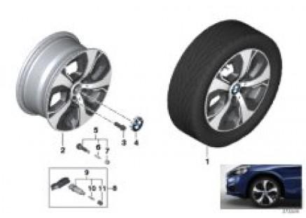 BMW LA wheel Turbine Styling 472 - 16''