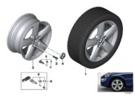 BMW LA wheel Star Spoke 478 - 17''
