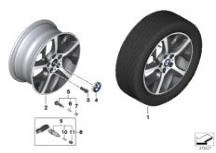 BMW LA wheel Y-Spoke 480 - 17''