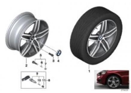 BMW LA wheel Star Spoke 379 - 17''
