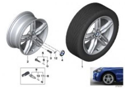 BMW LA wheel M Double Spoke 483M - 17'