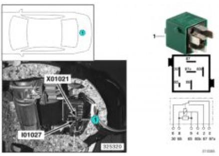 Relay for compressor pump I01027