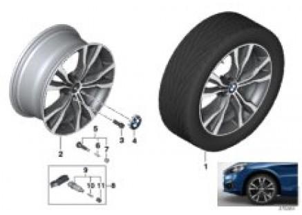BMW LA wheel Y-Spoke 484 - 18''