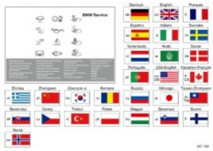 BMW Service Manual from model year 2012