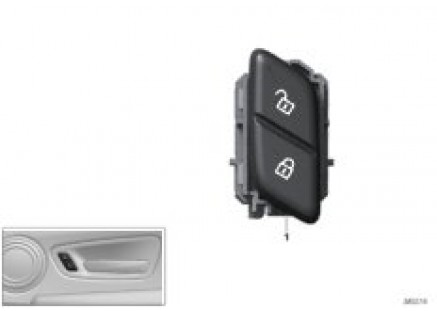 Central locking system switch