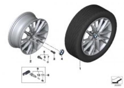 BMW LA wheel Y-Spoke 489 - 17''