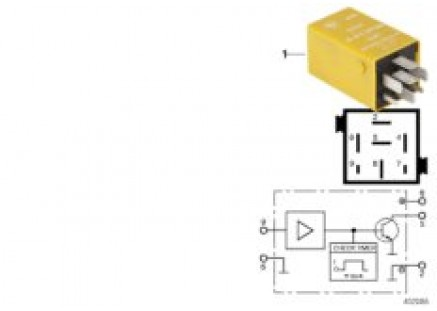 Relay for thermo switch