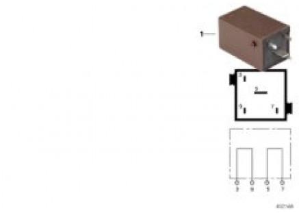 Relay, bridge - connection plug