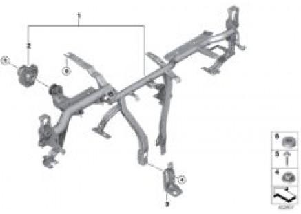 Carrier instrument panel