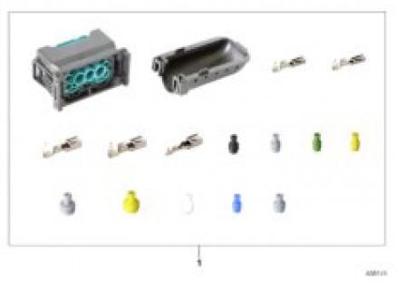 Rep. kit for socket housing, 12-pin