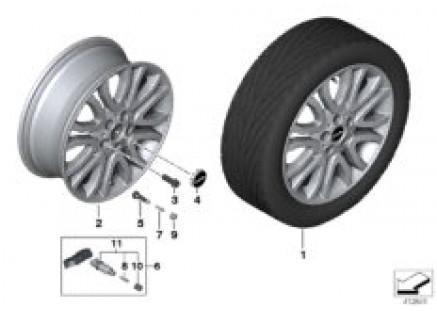 MINI LA wheel Vanity Spoke 504 - 18''