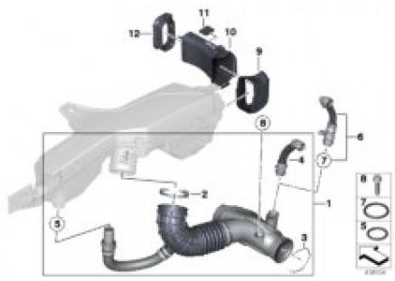 Fresh air duct / air intake