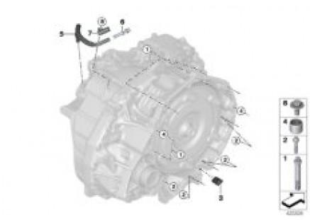 GA8F22AW trans. mount/mounted parts