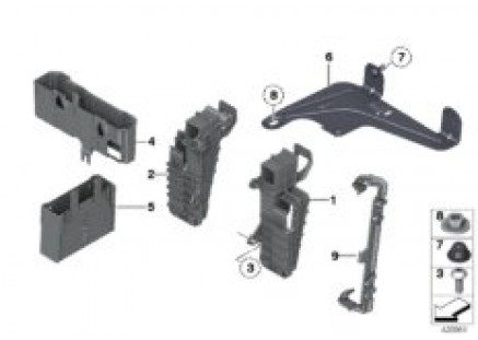 Bracket for control modules