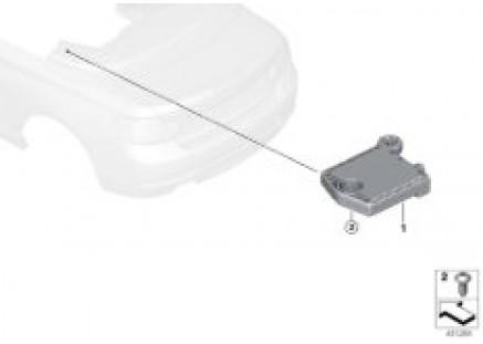 Individual parts for GPS/TV antennas