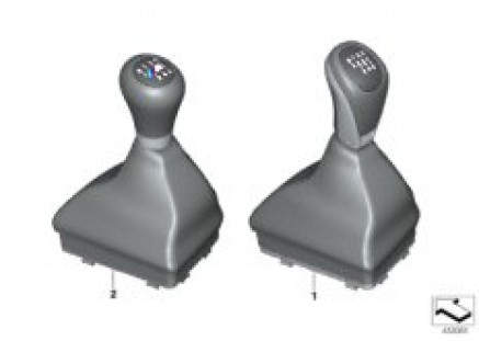 Gearshift knobs/coverings/plaques