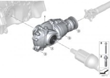 Front differential / mount