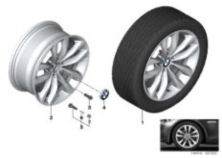 BMW LA wheel Styling 609 - 18''
