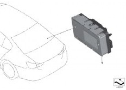 Power distribution box LIN module