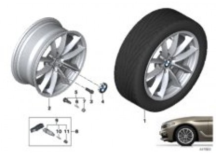 BMW LA wheel V-Spoke 618 - 17''
