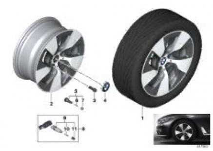 BMW LA wheel Turbine Styling 645 - 17''