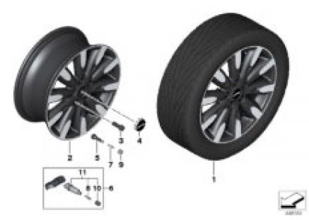 MINI LA wheel Roulette Spoke 502 - 17''