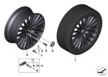 BMW LA wheel Multi-Spoke 629 - 21''
