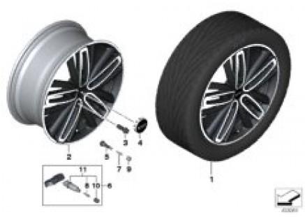 JCW LM wheel Radial Spoke 526 - 19
