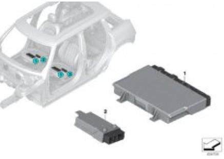 Control unit for seat module