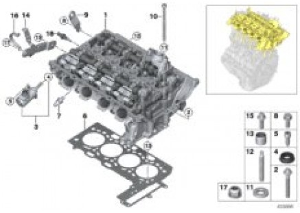 Cylinder Head/Mounting parts