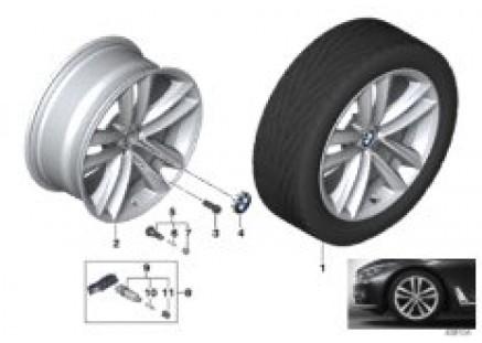 BMW LA wheel Double Spoke 630 - 19''