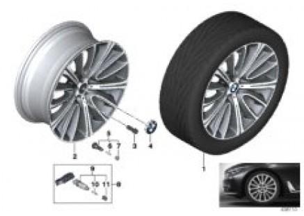 BMW LA wheel V-Spoke 628 - 20''