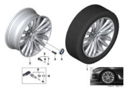 BMW LA wheel W-Spoke 646 - 20''