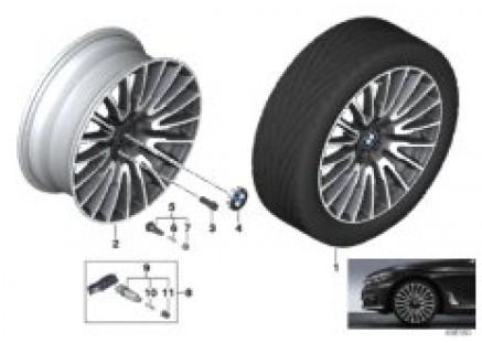 BMW LA wheel V-Spoke 629 - 21''