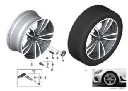 BMW LA wheel Double Spoke 647M - 19''