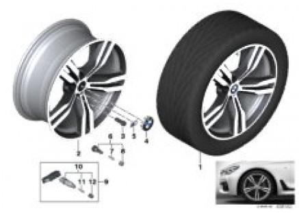 BMW LA wheel Double Spoke 648M - 20''