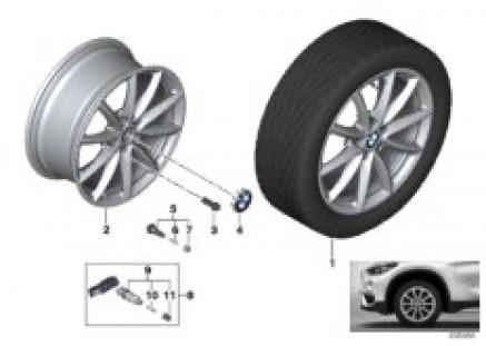 BMW LA wheel V-Spoke 683 - 17''
