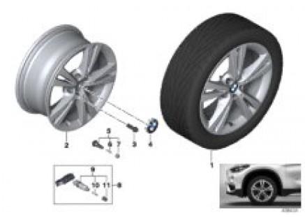 BMW LA wheel Double Spoke 385 - 17''