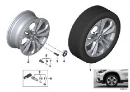 BMW LA wheel Double Spoke 564 - 17''