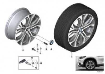 BMW LA wheel Y-Spoke 566 - 18''