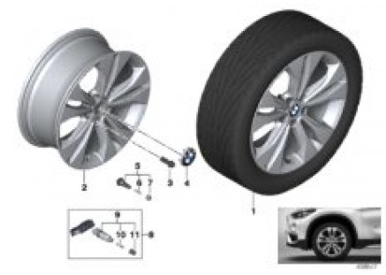 BMW LA wheel Double Spoke 567 - 18''
