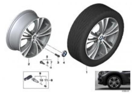 BMW LA wheel Double Spoke 568 - 18''