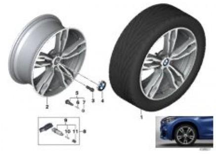 BMW LM wheel M double spoke 572M- 19