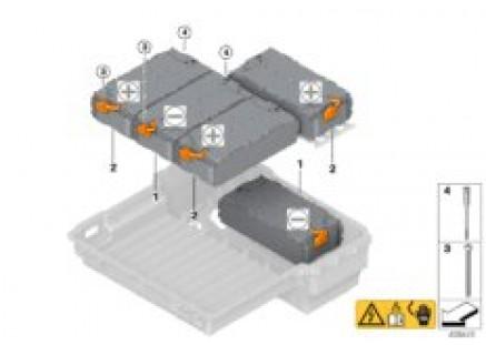 High-voltage battery module