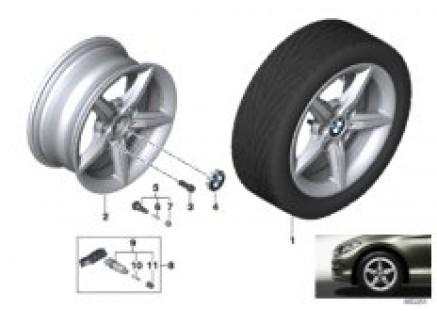BMW LM wheel star spoke 654 - 16