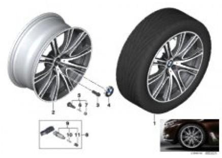 BMW LM wheel V-spoke 649i - 20