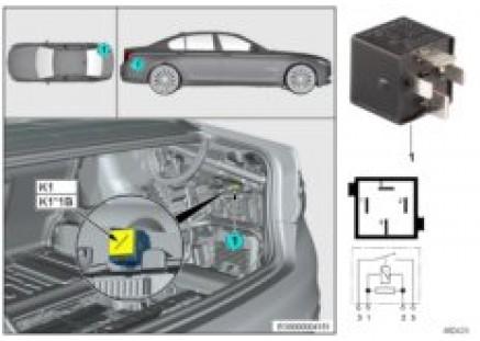 Relay axle air suspension K1