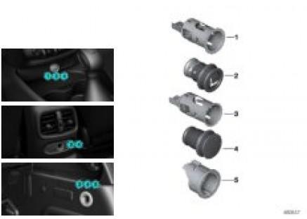 Cigarette lighter / sockets